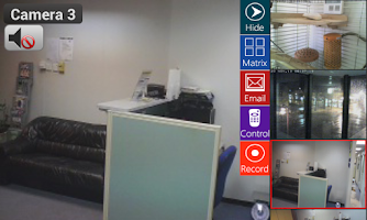 Screenshot of Viewer for Microseven IP cams