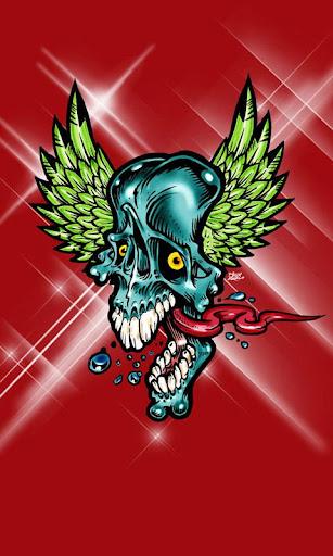 Breathtaking Skull 480x800