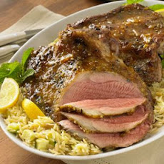 Grilled Leg of Lamb with Spicy Citrus Glaze