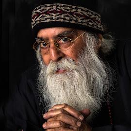 Gurudev #9 by Rakesh Syal - People Portraits of Men (  )