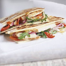Chicken & Peppadew quesadillas