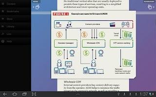Screenshot of Ericsson Review