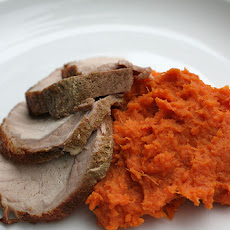 Mashed Sweet Potatoes With Orange Essence