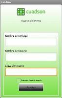 Screenshot of Cuadson Cuadrantes y Turnos