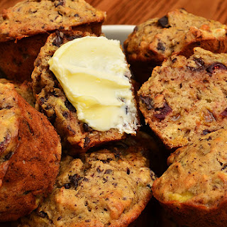 Low-Fat Banana-Chocolate Chip Muffins recipe – 167 calories
