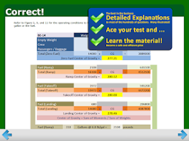 Screenshot of FAA ATP Written Test Prep