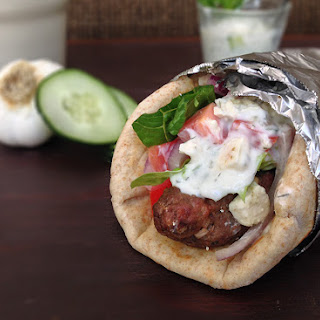Greek Gyros with Tzatziki Sauce