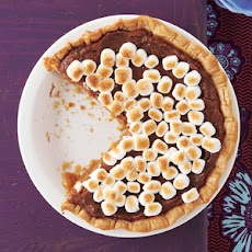 Sweet Potato Pie with Marshmallow Topping