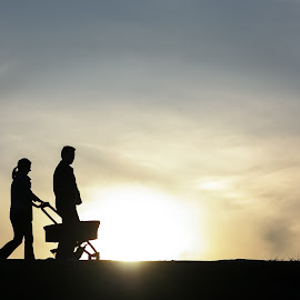 new born by Alexandra Ale - People Couples ( love, sunset, couple,  )