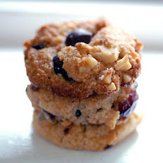 Gluten Free Cranberry Walnut Chocolate Chip Cookies