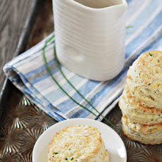 Parmesan Chive Buttermilk Biscuits