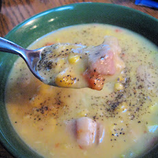 Potato and Corn Chowder Vegan