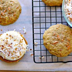 Carrot Cake Whoopie Pies with Coconut