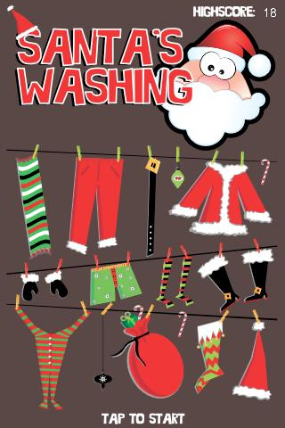 Santa's Washing