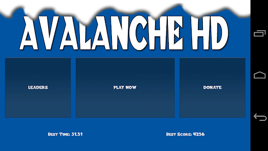 Avalanche HD - screenshot
