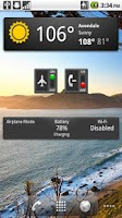 Screenshot of Airplane Mode Widget
