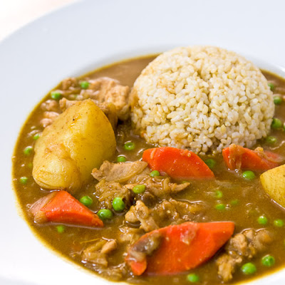 Homemade Japanese Curry Rice