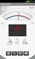 Screenshot of Danfoss Online