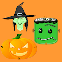 Halloween Crazy clock icon