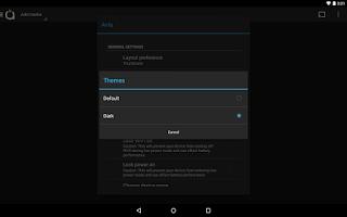 Screenshot of Avia Dark Theme