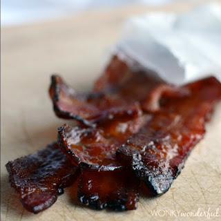 Maple Bourbon Glazed Bacon