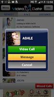 Screenshot of Video Date