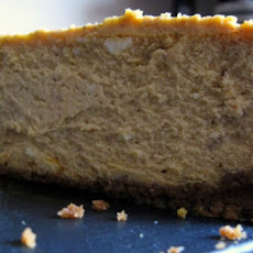 Honey Vanilla Cheesecake with Gingersnap Crust