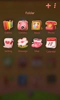 Screenshot of Sweet love GO Launcher Theme