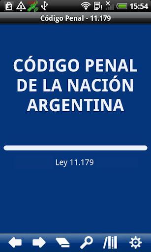 Penal Code Argentina