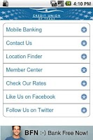 Screenshot of Credit Union of Texas Mobile