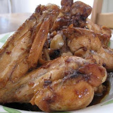 Cola-Brined Chicken Wings
