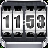 APK App 3D Rolling Clock WHITE for iOS