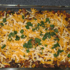 Chicken Quesadilla Casserole