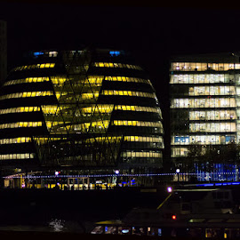 Night time london  by David Kendall - Buildings & Architecture Office Buildings & Hotels