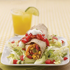 Refried Beans and Rice Burritos