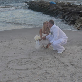 A Kiss by the Ocean by Lorraine D.  Heaney - Wedding Details