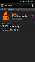 Screenshot of myOrange Kenya
