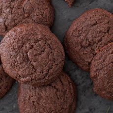 Whole Wheat Double Chocolate Mint Cookies