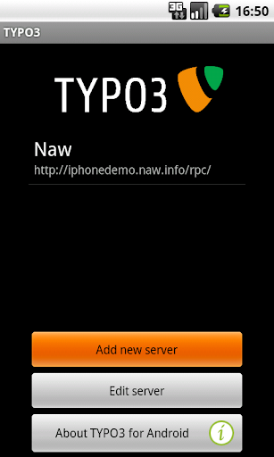 TYPO3 for Android