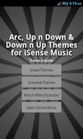 Screenshot of Theme Pack 1 - iSense Music