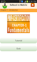 Screenshot of PMP Certification Exam prep