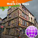 Rennes Street Map icon