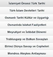 Screenshot of KPSS Tarih Anlatım