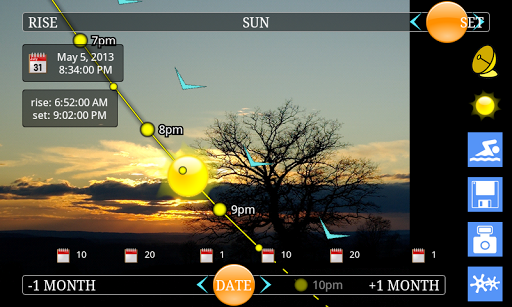 suntrajectory-net for android screenshot