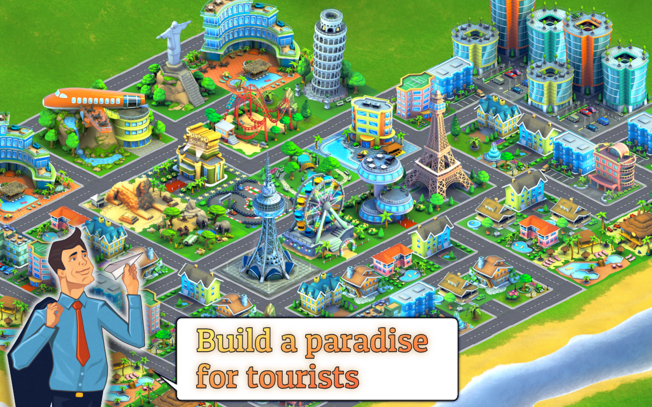 City Island: Airport Asia Screenshot 0