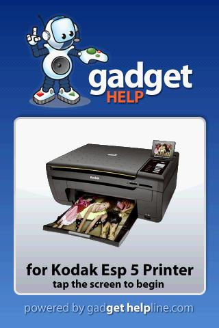 Kodak Esp 5 - Gadget Help