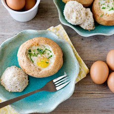 Land o' Lakes Eggs Baked in Bread Bowls