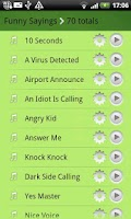 Screenshot of 1200+ Ringtones