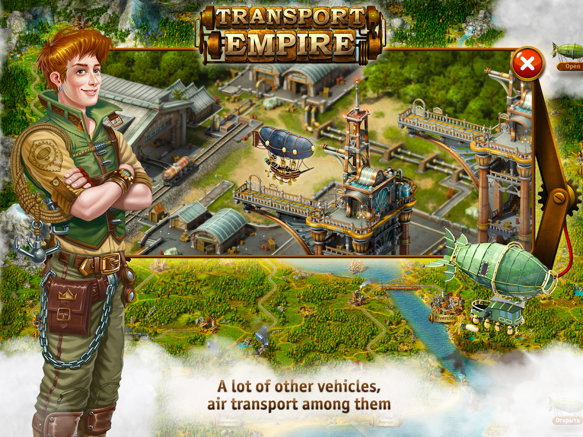 Transport Empire: Steam Tycoon Screenshot 3