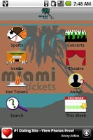 Screenshot of Miami Tickets